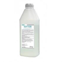 Засіб рідкий гігієнічний антибактеріальний для шкіри рук та тіла SEPTOR 900мл