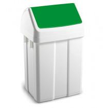 Урна для сміття з поворотною кришкою 12л