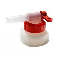 Кран-кришка пластикова для каністри